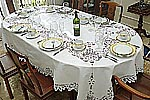 Battenburg Lace Tablecloths